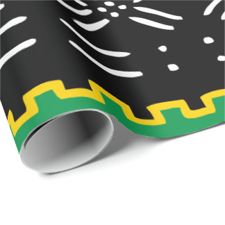 African Tribal Pattern Wrapping Paper