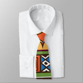 African Tribal patternfun tie