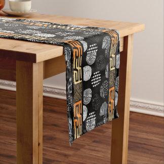 African Tribal Print Short Table Runner