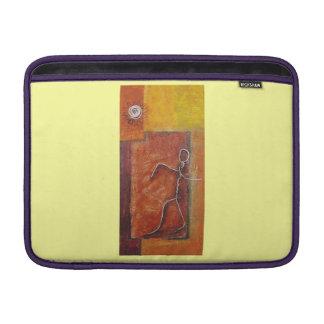 African twisted man MacBook air sleeve