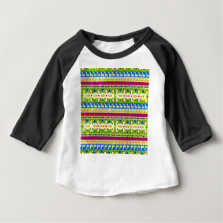 African Unicorn pattern Baby T-Shirt