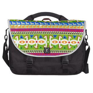 African Unicorn pattern Laptop Computer Bag