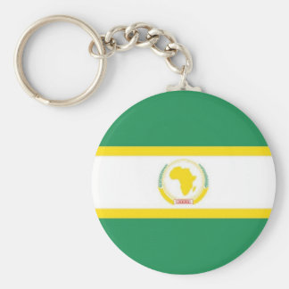 African Union Flag Keychain