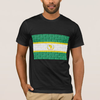 African Union Painted on Bricks T-Shirt