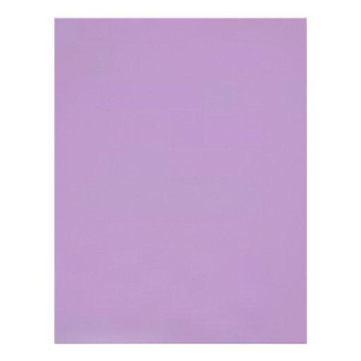 African Violet  Elegant Fashion Color Letterhead Design