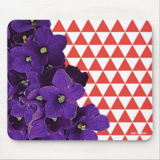 African Violet Mouse Pad
