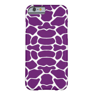 African Violet Safari Giraffe Barely There iPhone 6 Case
