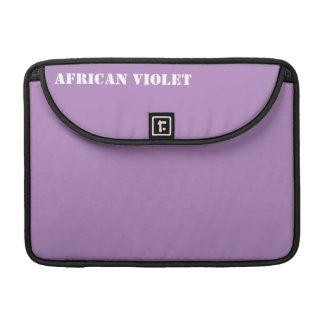 African violet sleeves for MacBooks