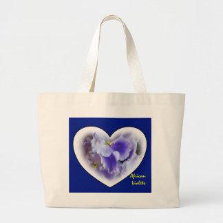 African Violets Bag