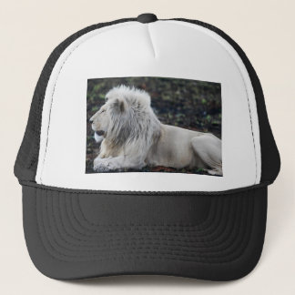 African White Lion Profile photo Trucker Hat
