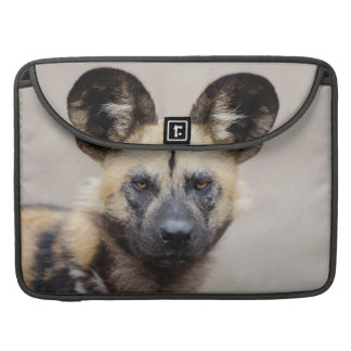 African wild dog sleeve for MacBooks