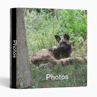 African Wild Dogs Binder