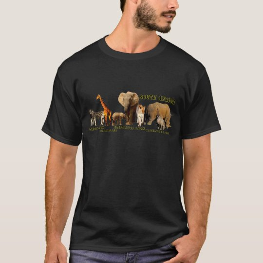 African Wildlife Collage II T-Shirt