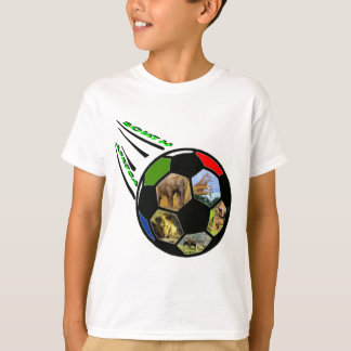 African Wildlife Soccer Ball T-Shirt