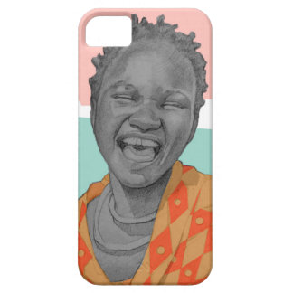 African woman iPhone 5 cases