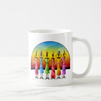 African women coffee mug