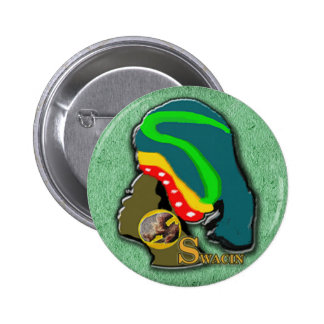 African Women in Green Grass 2 Inch Round Button