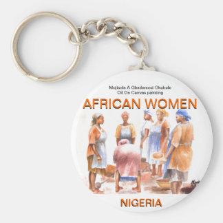 AFRICAN WOMEN  Keychain BY MOJISOLA A GBADAMOSI OK