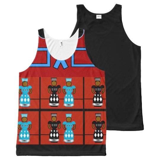 AFRICAN WOMEN TANK TOP, i Art and Designs