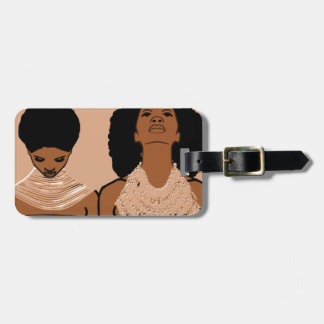 African Women With Tribal Necklaces Luggage Tag