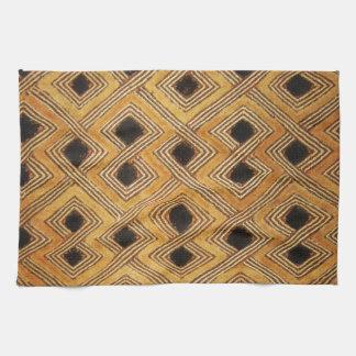 African Zaire Congo Kuba Textile Hand Towels