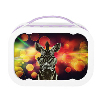 African Zebra Lunch Box