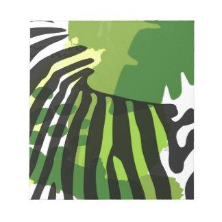 African Zebra Notepad
