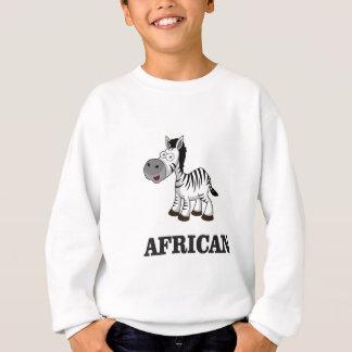 African Zebra Sweatshirt
