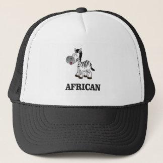 African Zebra Trucker Hat