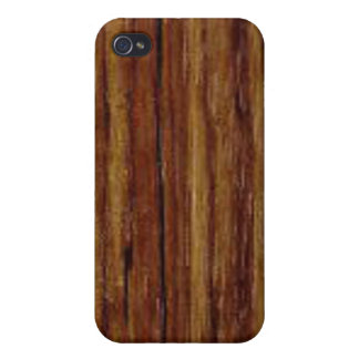 African Zebra Wood Iphone 4 Case For The iPhone 4