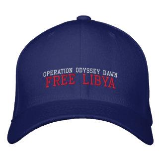 Africankoko Custom Collection(Libya) Embroidered Hat
