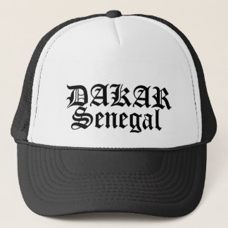 Africankoko Custom DAKAR, Senegal Trucker Hat