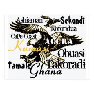 Africankoko custom Ghana postcard