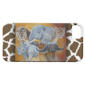 Africas Big Five  Iphone case. Case For The iPhone 5