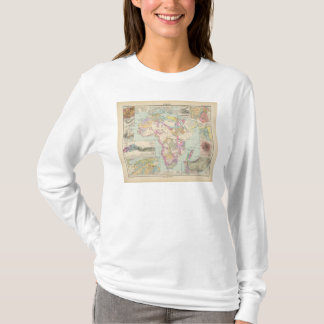 Afrika - Atlas Map of Africa T-Shirt
