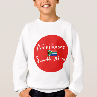 Afrikaans South Africa Language And Flag Sweatshirt