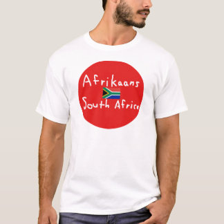 Afrikaans South Africa Language And Flag T-Shirt