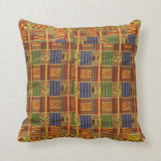 AfriMex Urbano Kente Pillow