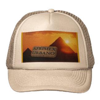 AfriMex Urbano Pyramid Sunrise Hat