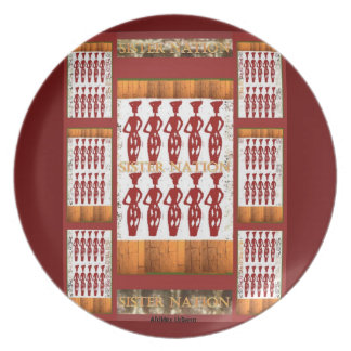AfriMex Urbano Sister Nation Plate