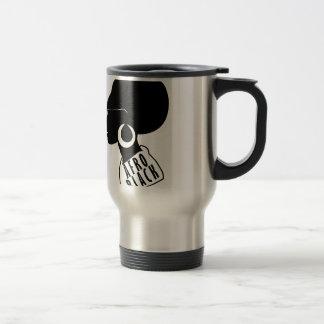 AFRO African American Black gift t shirt Travel Mug