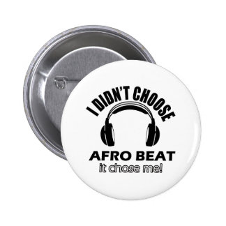 Afro beat designs buttons