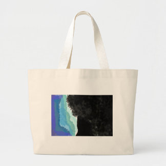 Afro Beauty Large Tote Bag