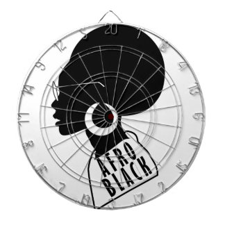 AFRO black design Dartboard