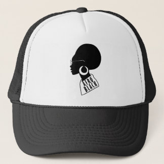 AFRO black design Trucker Hat