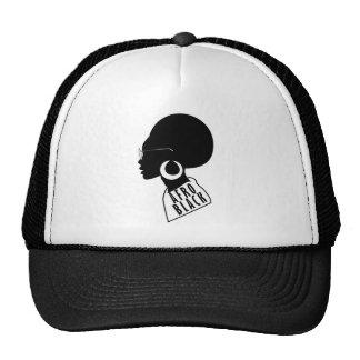 AFRO black design Trucker Hat