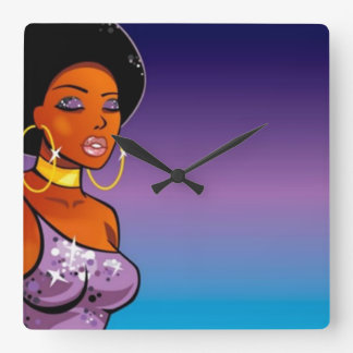 Afro-centric Wall Clock