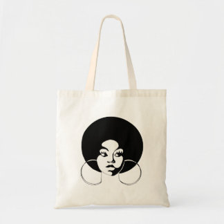 Afro Diva Budget Tote