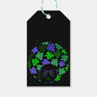 Afro Diva Green & Blue Gift Tags