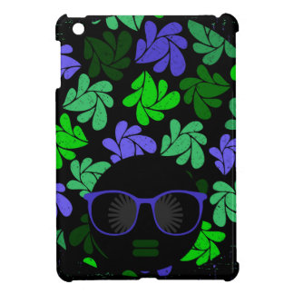 Afro Diva Green & Blue iPad Mini Case